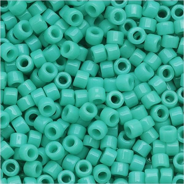 Miyuki Delica Seed Beads 11/0 'Opaque Sea Opal' DB1136 7.2 GR