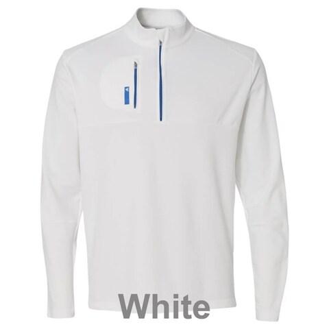 adidas - Golf Mixed Media Quarter-Zip Jacket