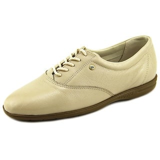 Easy Spirit Motion Women Round Toe Leather Gray Oxford