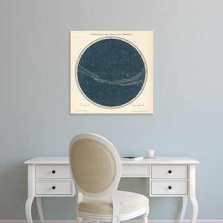 Easy Art Prints Wild Apple's 'Celestial Sphere North' Premium Canvas Art