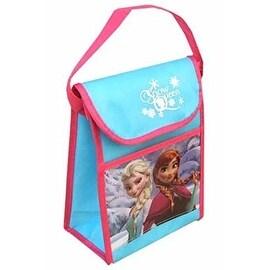 "Disney Frozen ""Snow Queen"" Non Woven Vertical Lunch Bag with Hangtag"
