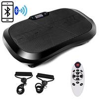 Costway Fitness Vibration Platform Workout Machine Bluetooth Remote Control Weightloss - Black