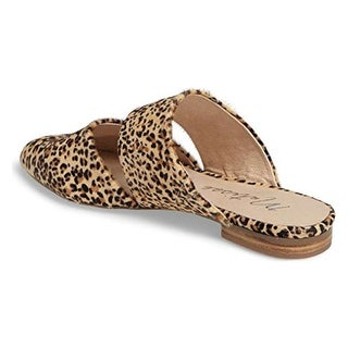 Matisse Womens BERLIN Leather Closed Toe Slip On Slippers