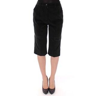 Dolce & Gabbana Dolce & Gabbana Black cotton shorts pants
