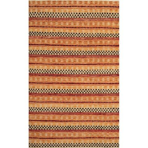 """Momeni Heirlooms Barjasteh Hand Knotted Wool Multi Area Rug - 3'10"""" X 6'1"""""""