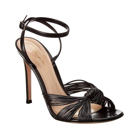 Gianvito Rossi Portia 100 Leather Sandal