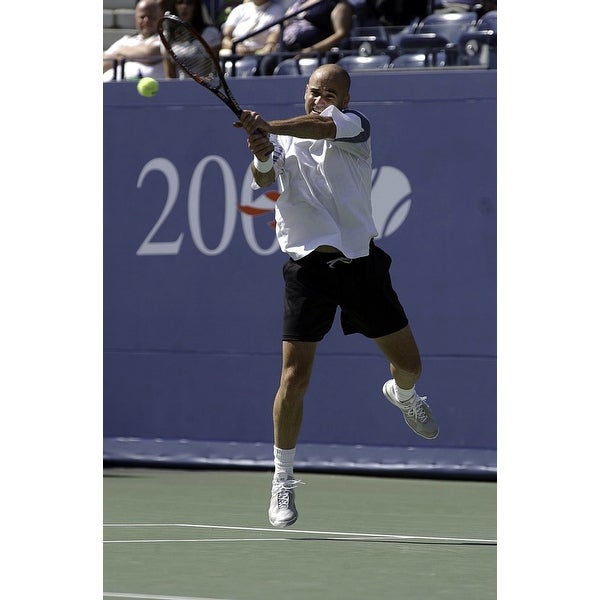 840e2f58eaad Shop Andre Agassi at the US Open Photo Print - Free Shipping On Orders Over   45 - Overstock.com - 25388961