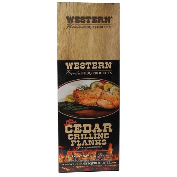 """Western 90210 Cedar Grilling Planks, 5.5"""" x 15"""""""
