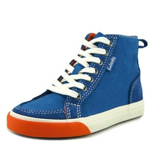 Clarks Club Pop Toddler W Canvas Blue Fashion Sneakers