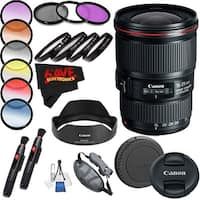Canon EF 16-35mm f/4L IS USM Lens (International Model) International Version (No Warranty) Professional Accessory Combo