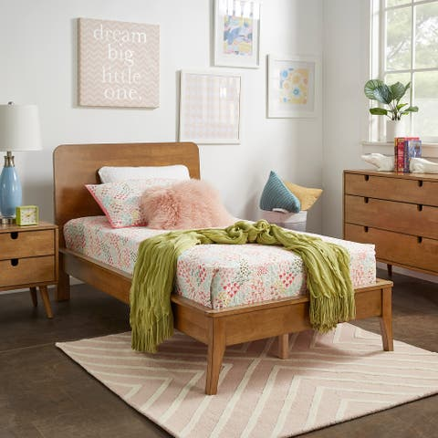 Clark Wood Platform Bed by iNSPIRE Q Junior