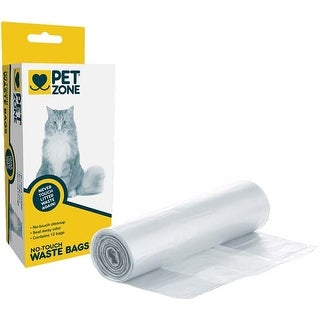 - Pet Zone Universal No Touch Waste Bags 12/Pkg