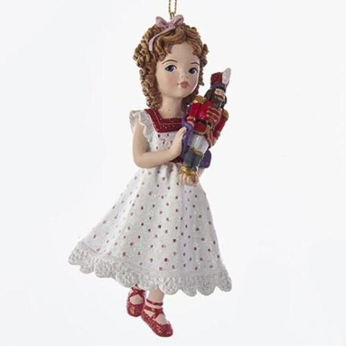Clara with Nutcracker Ornament