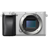 Sony Alpha a6300 Mirrorless Digital Camera (Body Only - Silver)