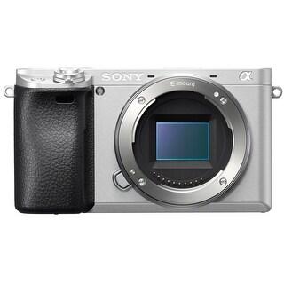 Sony Alpha a6300 Mirrorless Digital Camera (Body Only - Silver)