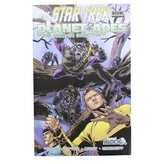 Star Trek Planet of the Apes The Primate Directive #1 Comic (Nerd Block Variant) - multi