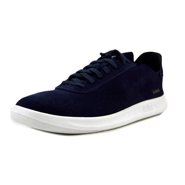 Puma G. Vilas Bait Men Round Toe Suede Blue Sneakers