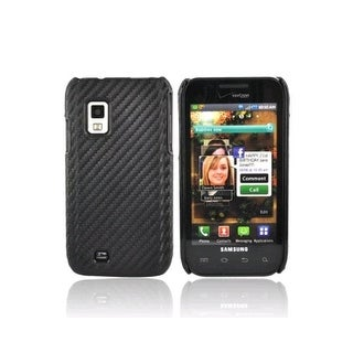 OEM Verizon Snap-On Case for Samsung Galaxy S Fascinate i500 (Graphite Black) (B