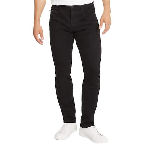 Kenneth Cole Mens 5 Pocket Straight Leg Stretch Jeans