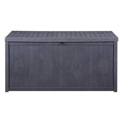 Zenova 52/113 Gallons Outdoor Storage Box