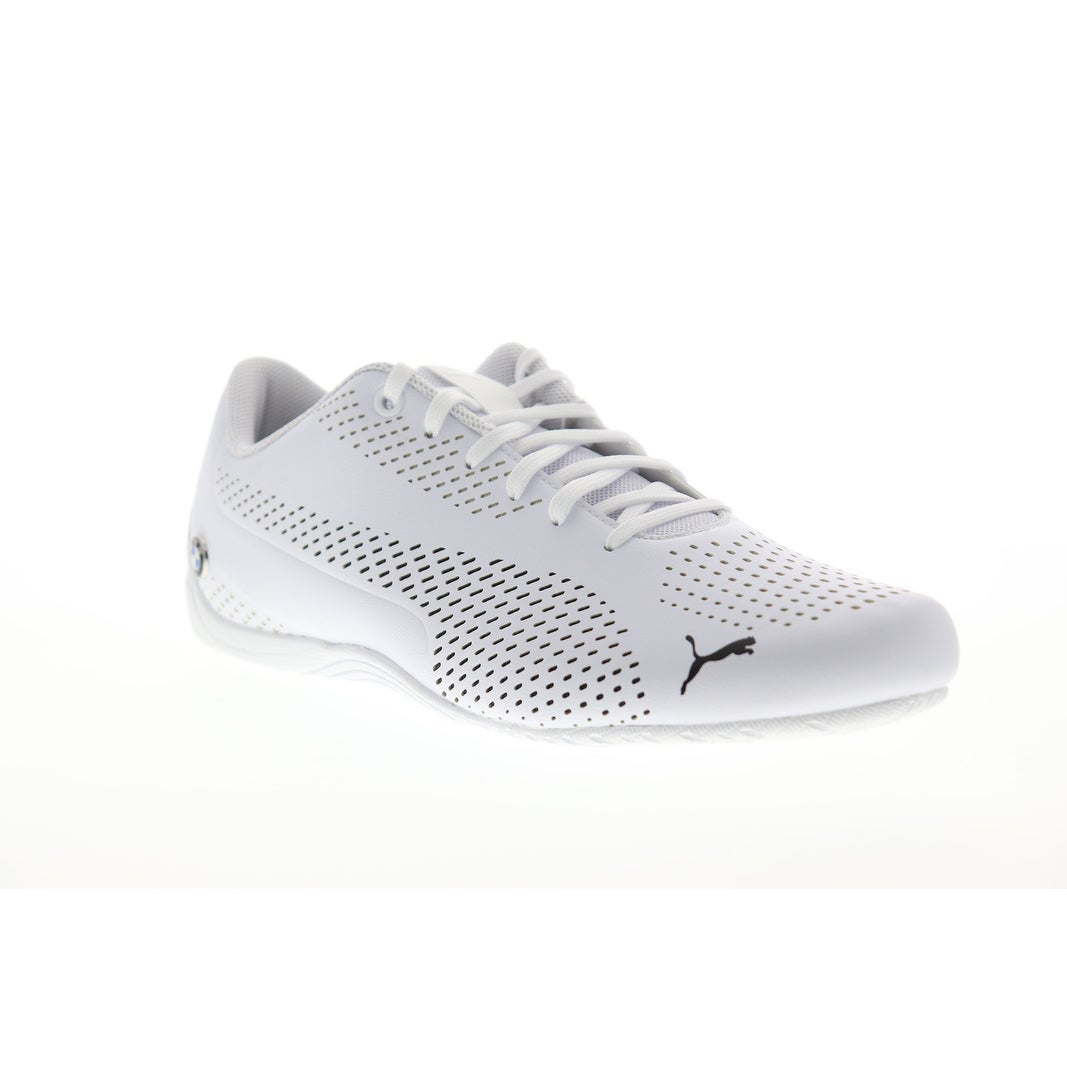 Puma Bmw Mms Drift Cat 5 Ultra Ii White Black Mens Athletic Racing Shoes Overstock 30564021