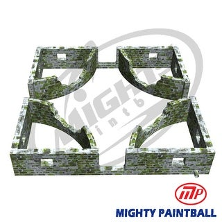 Mighty Paintball - Smart-Field (30'x30'X5'H) Curve design (MP-MA-1024)