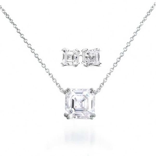 Jewelry & Watches Jewelry Sets Special Section 925 Silver Black Cubic Zirconia Drop Pendent Earring Set