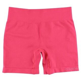 Oiselle Womens Long Flyte Shorts Pink