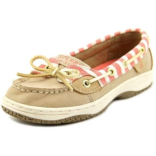 Sperry Top Sider Anglfsh Moc Toe Leather Boat Shoe