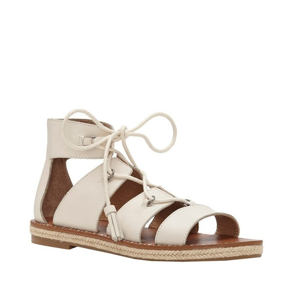 Lucky Brand Womens Dristel Lace Up Flats Sandals - 9 b(m)