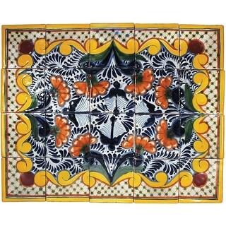 "Native Trails TVR6034 Talavera Tile 20"" W x 16"" H Golondrina Mural - N/A"