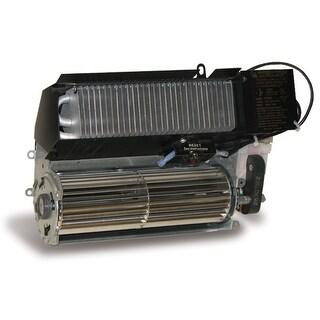Cadet RM208  Register 6825 BTU Electric Wall Heater Assembly - Black