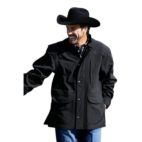 Miller Ranch Western Jacket Mens Bonded Carcoat Black