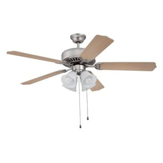 """Craftmade E203 Pro 52"""" 5 Blade Indoor Ceiling Fan - Light Kit Included"""