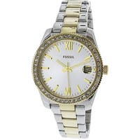Fossil Women's Scarlette  Two-Tone Stainless-Steel Fashion Watch