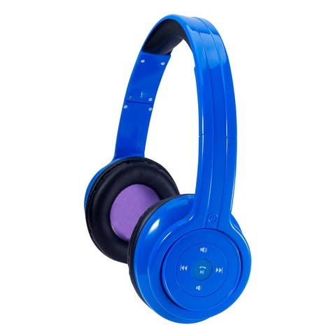 Craig Bluetooth Stereo Headphone-Blue