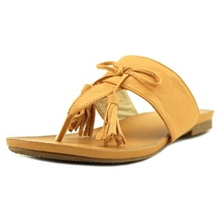 MTNG 93982 Open Toe Leather Thong Sandal