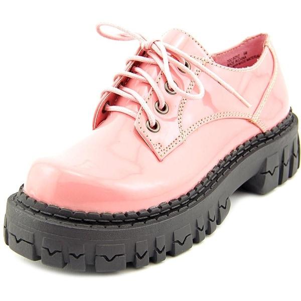 2 Lips Too Too Boyz Women Pink Oxfords