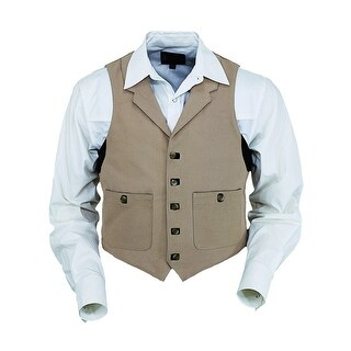 Outback Trading Western Vest Mens Manly Quality Renegade