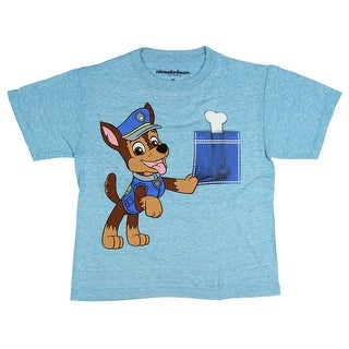 Paw Patrol Little Boys Chase And A Pocket Full Of Bone T-Shirt
