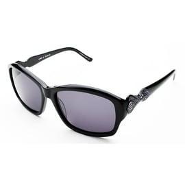 Judith Leiber Women's Persia Sunglasses Onyx - Small