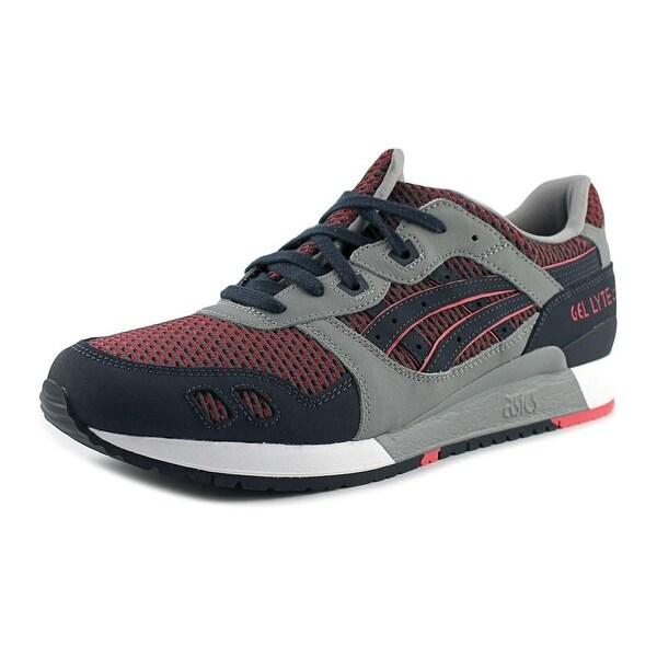 Asics Gel-Lyte III Men Round Toe Synthetic Gray Running Shoe