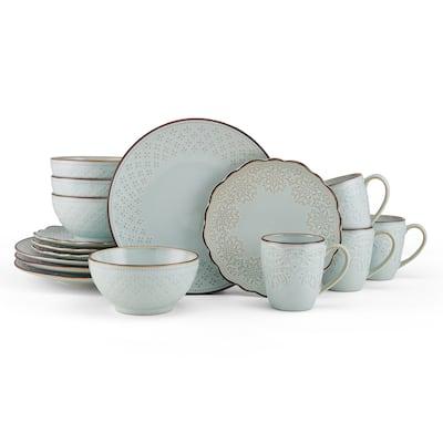 Pfaltzgraff Joanne Blue 16PC Dinnerware Set (Service for 4)