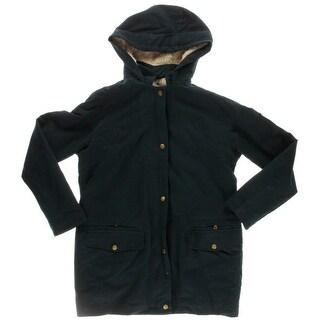 Zara Trafaluc Mens Hooded Long Sleeves Coat - M