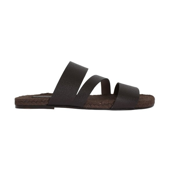 cheap sale outlet store store cheap price Dolce & Gabbana Straw Slide Sandals XNNOw