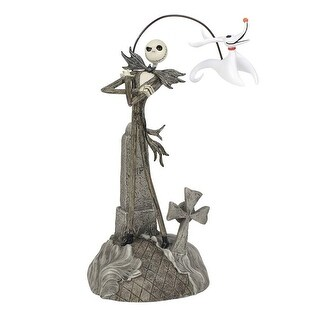 Nightmare Before Christmas Jack with Zero Figurine - multi