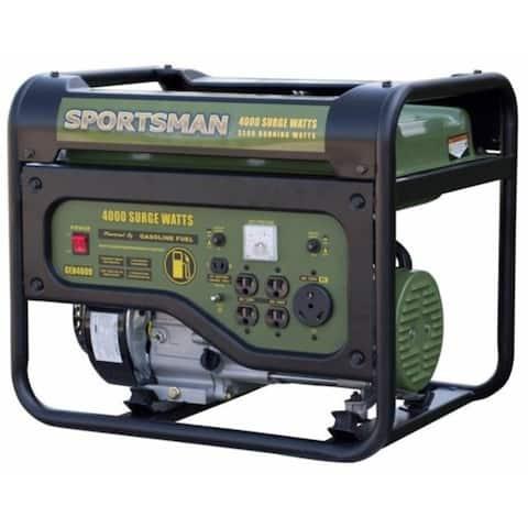 Sportsman GEN4000C 4000 Watt Portable Generator - CARB Approved