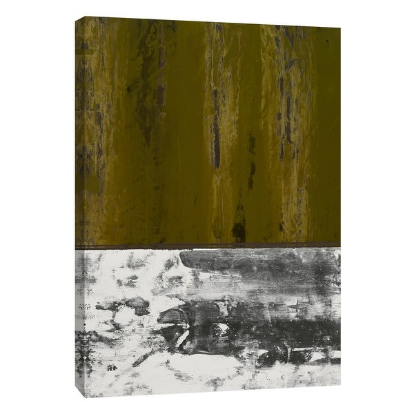 """PTM Images 9-105288 PTM Canvas Collection 10"""" x 8"""" - """"Squeegeescape 33"""" Giclee Abstract Art Print on Canvas"""