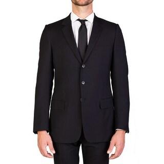Dior Homme Men's Virgin Wool Two-Button Suit Black