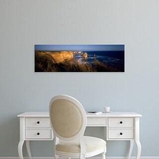 Easy Art Prints Panoramic Image 'Rocks, Twelve Apostles, Port Campbell National Park, Victoria, Australia' Canvas Art